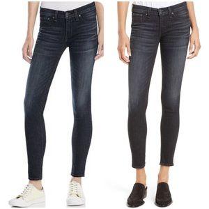 [Rag&Bone] skinny jeans black Rae